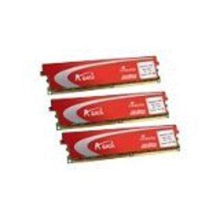 ADATA Plus Series 6 GB (3 x 2 GB) DDR3-1333 (PC3 10666) Kit CL8-8-8-21 AX3U1333PB2G73P (Black)