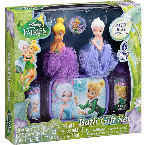 Disney Fairies Pixie Blossom Scented Bath Gift Set, 6 pc