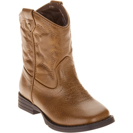 newest 477e8 af7e9 Faded Glory - Toddler Boy s Cowboy Boot - Walmart.com