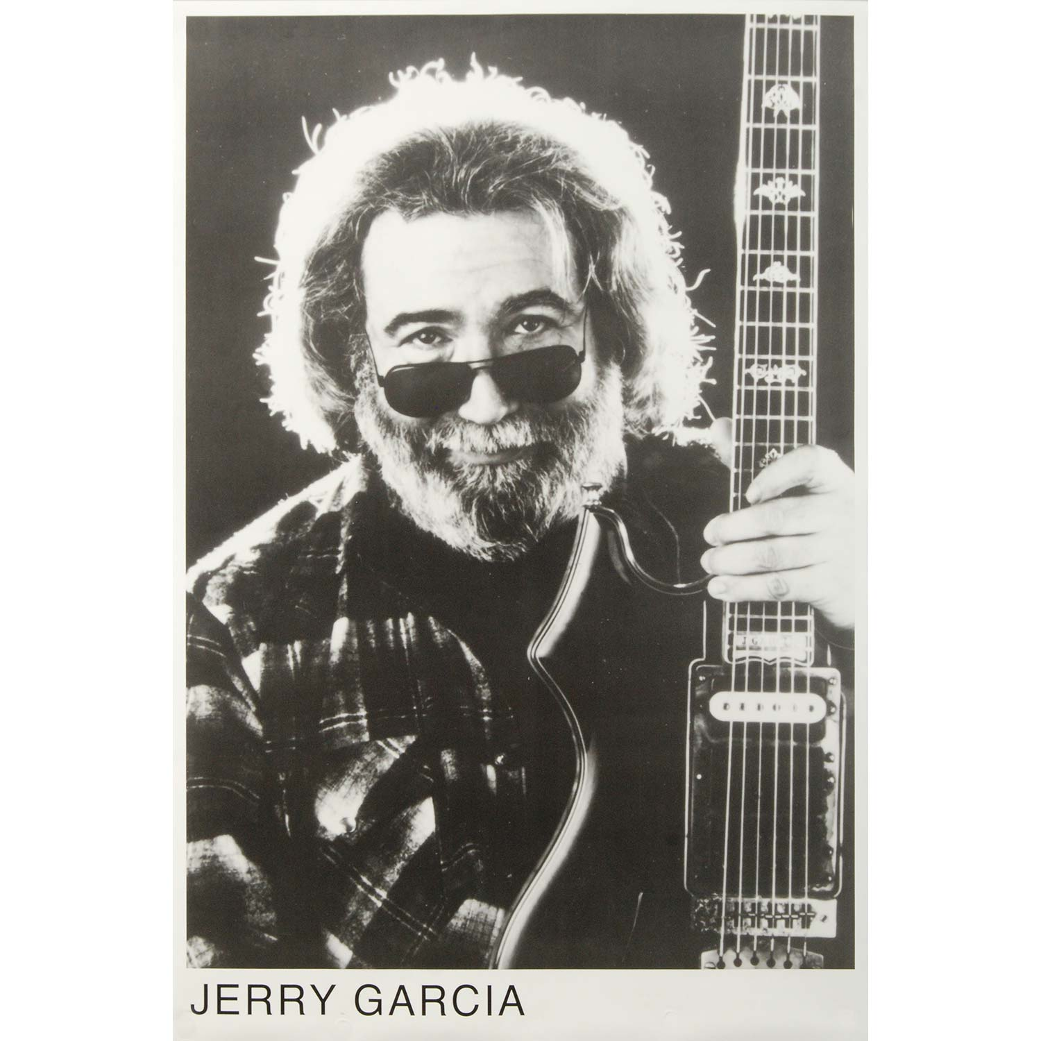 Jerry Garcia - Import Poster