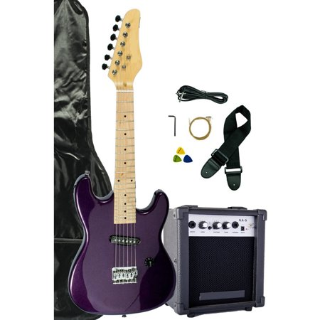 directly cheap junior kids mini 1 2 size electric starter guitar with amplifier gig bag and. Black Bedroom Furniture Sets. Home Design Ideas