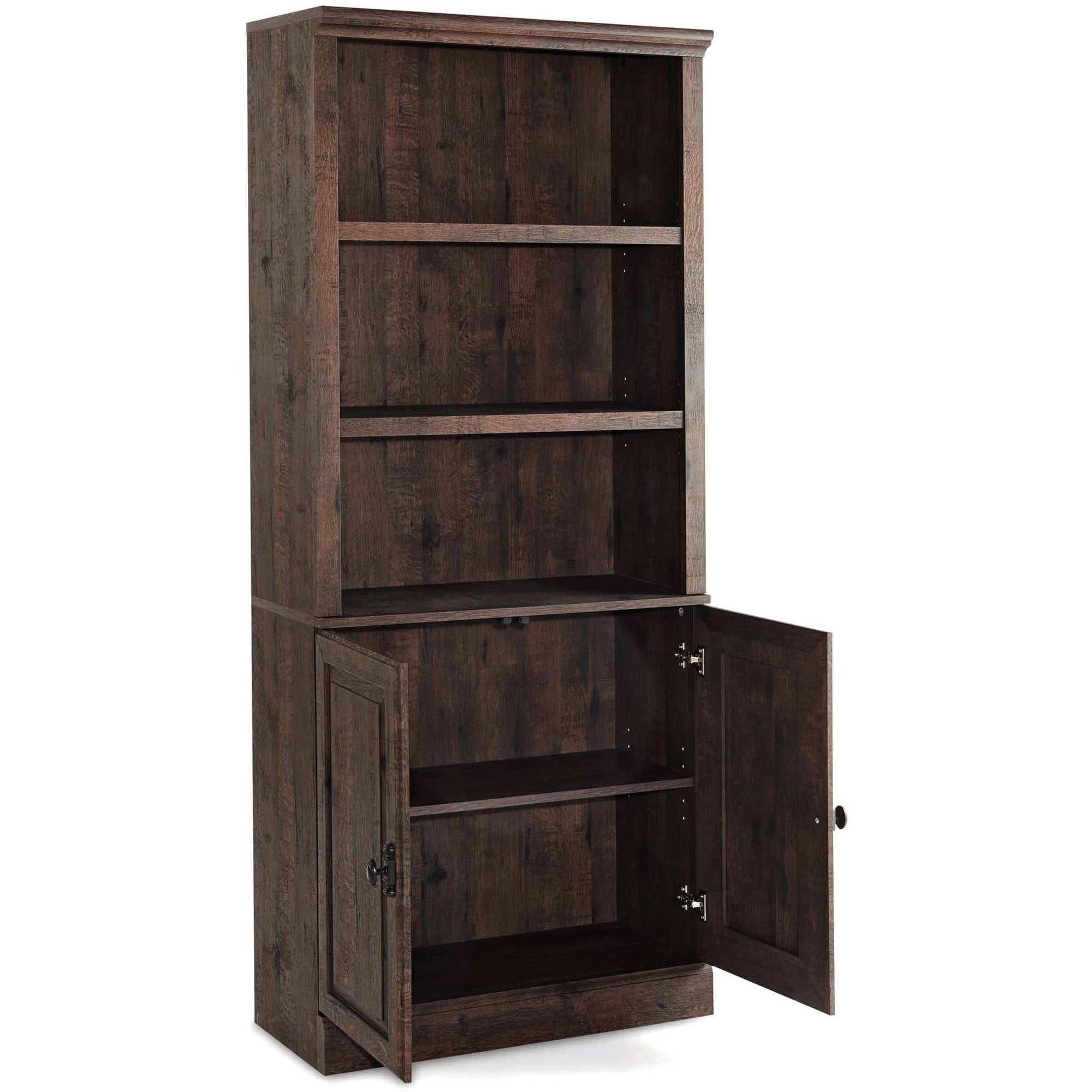 Better Homes Gardens 71 Crossmill Bookcase With Doors Multiple Finishes