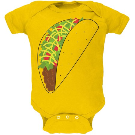 Halloween Party Food Ideas For Babies (Halloween Taco Food Costume Soft Baby One)