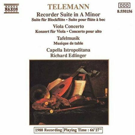 Recorder Suite / Viola Concerto / Tafelmusik