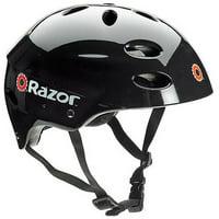 Razor V17 Multi-Sport Adult Helmet, Glossy Black