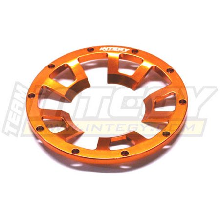 Integy RC Toy Model Hop-ups T6818ORANGE Rear Beadlock Ring (1) for HPI Baja - Rear Beadlock Ring