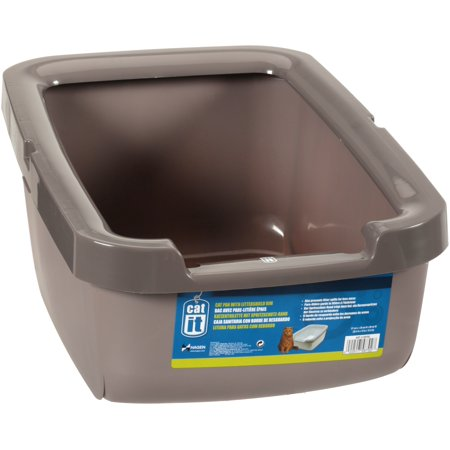 Catit Cat Litter Box With Rim, (Small Litter Boxes)