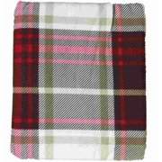 HD Heavyweight Brown & Red Plaid Flannel Sheet Set Queen Bed Sheets Bedding