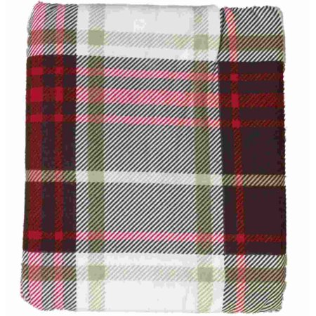 HD Heavyweight Brown & Red Plaid Flannel Sheet Set Full Bed Sheets Bedding ()