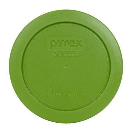 Pyrex Replacement Lid 7200-PC Lawn Green Plastic Cover for Pyrex 7200 2-Cup Bowl (Sold
