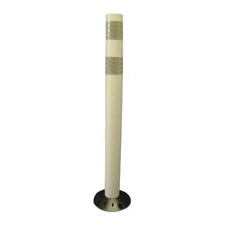 Value Brand Delineator Post, White 04-728W