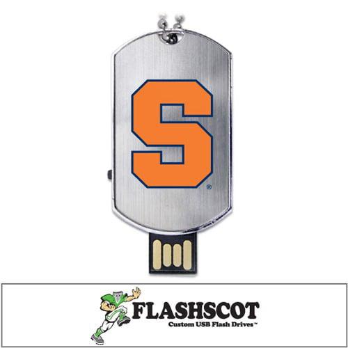 Syracuse Orange Flash Tag USB Drive - 16GB