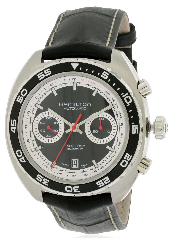 Hamilton Pan Europ Auto Chrono Mens Watch H35756735 by Hamilton