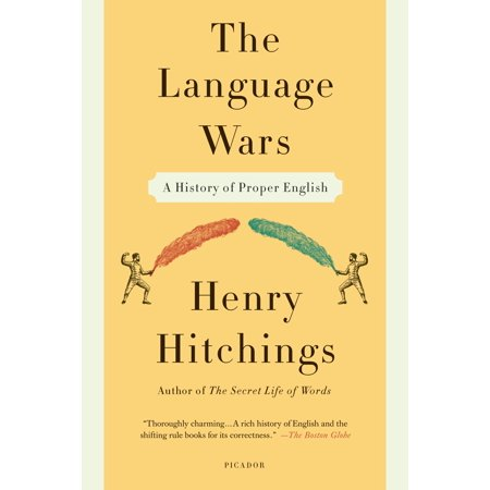 The Language Wars : A History of Proper - Proper English Hand Block