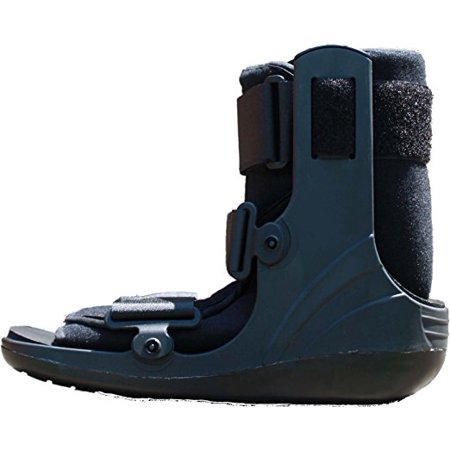 4859616db0 Mid Calf Cam Walker Fracture Boot Ankle Walking Boot (Small) - Walmart.com
