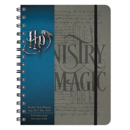 Harry Potter 2018 Weekly Note Planner