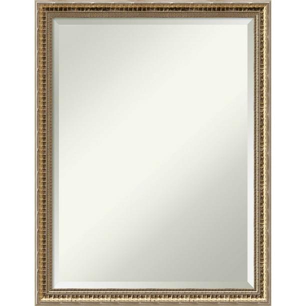 Amanti Art Bathroom Mirror Medium Large, Large Gold Frame Bathroom Mirror