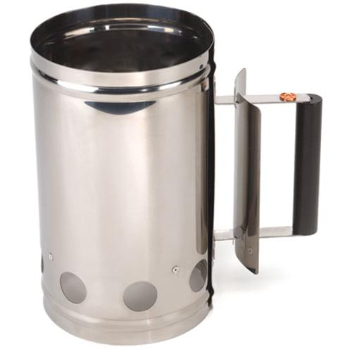 Foxrun Outset Stainless Steel Chimney Grill Starter