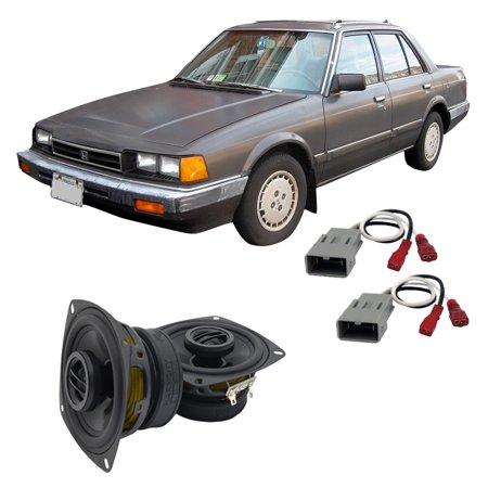 Fits Honda Accord 1982-1985 Front Door Replacement Harmony HA-R4 Speaker - Honda Accord Front Doors