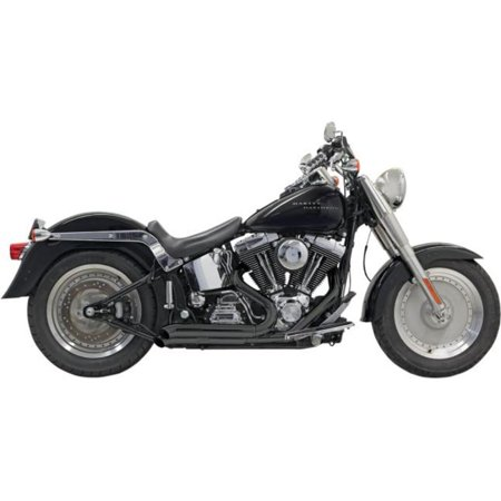 Bassani Manufacturing 1S24DB Pro Street Exhaust System with Heat Shields - Turn-Out -
