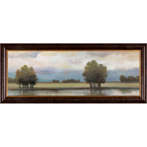Lake Landscape Framed Artwork by