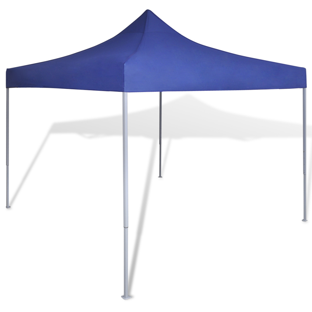 Outdoor Foldable Canopy Pavilion Tent 10' x 10' - Blue