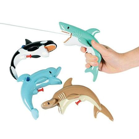Kids Squirt Sea Life Guns - Summer Party Sea Life Water Guns for Kids (1pk)](Kids Water Guns)