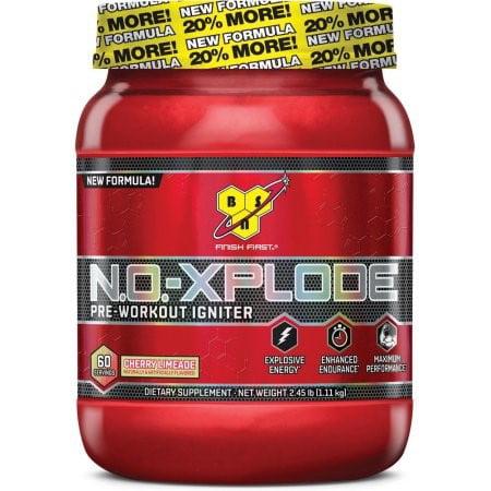 BSN N.O.-XPLODE, Cherry Limeade, 2.45 Lb