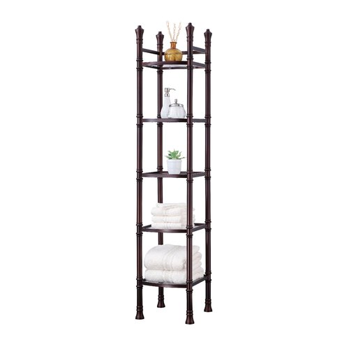 Best Living Monaco Tall Etagere 5-Tier Tower, Oil Rubbed Bronze by Generic