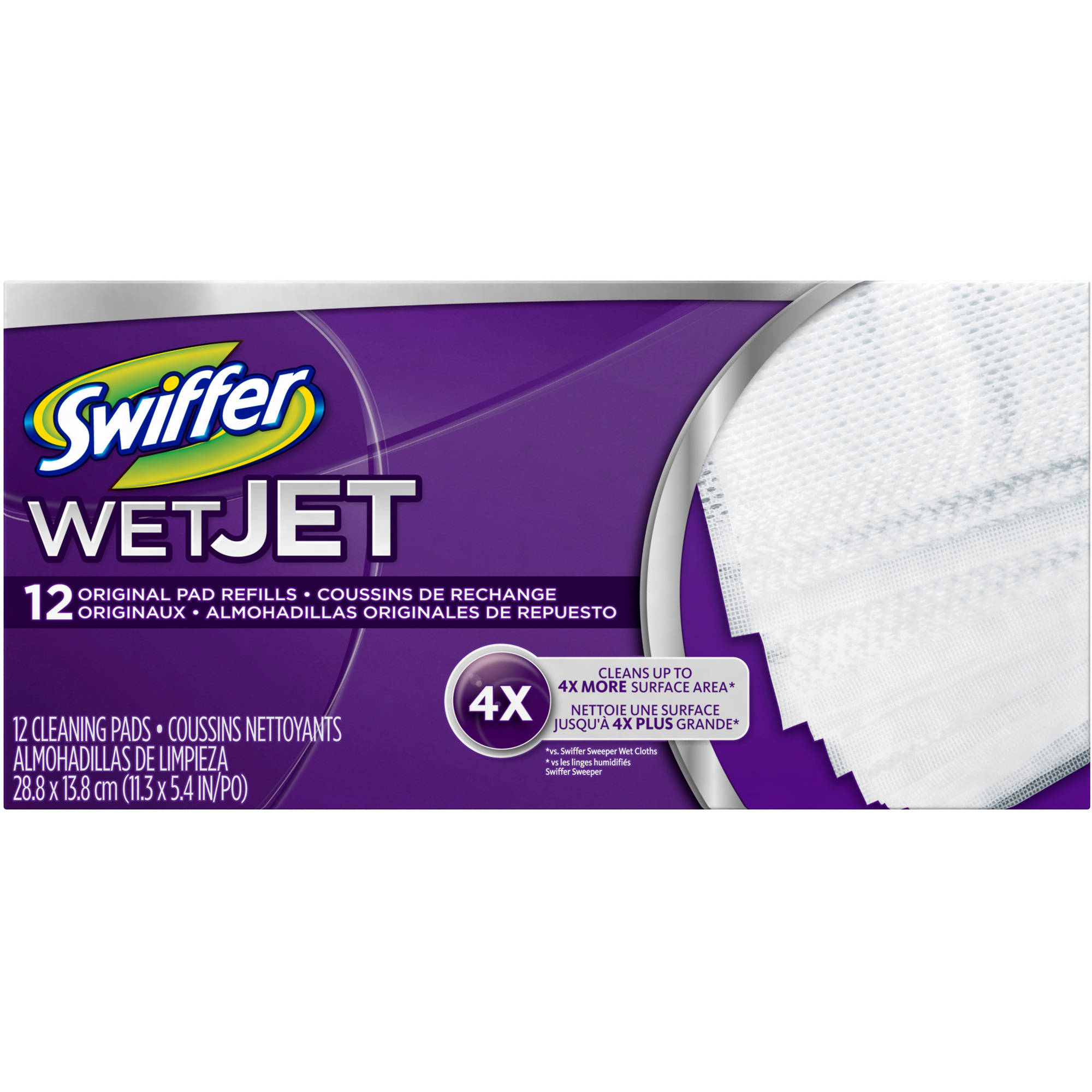 Swiffer Wet Jet Pad Refill (choose your size)