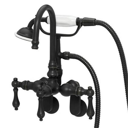 Image of American Bath Factory F200B-OB Bathtub Wall Mount Faucet In Old World Bronze