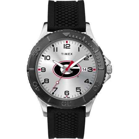 Timex - NCAA Tribute Collection Gamer Black Men's Watch, University of Georgia Bulldogs (Georgia Bulldogs Mens Watch)