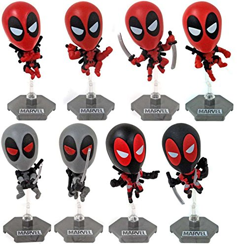 Marvel Original Minis Complete Figure Set of 8, Marvel De...