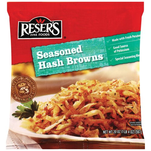 Reser's Fine Foods Seasoned Hash Browns, 20 Oz.