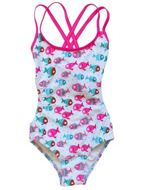 eb4e9143c3 Product Image So Sydney Swim Girls' One Piece Cut Out Adjustable Back Tie Swimsuit  Bathing Suit