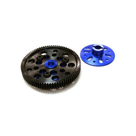 Integy C26539BLUE Slipper Clutch Plates w/Steel 83T Spur Gear INTC26539BLUE