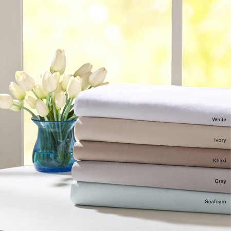 Comfort Classics Forever Percale Sheet (Satin Beige Bed Frame)
