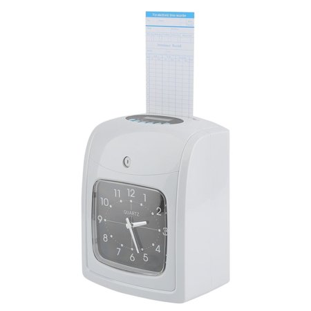 K-8 English Paper Card Attendance Employee Machine Punch Time Clock
