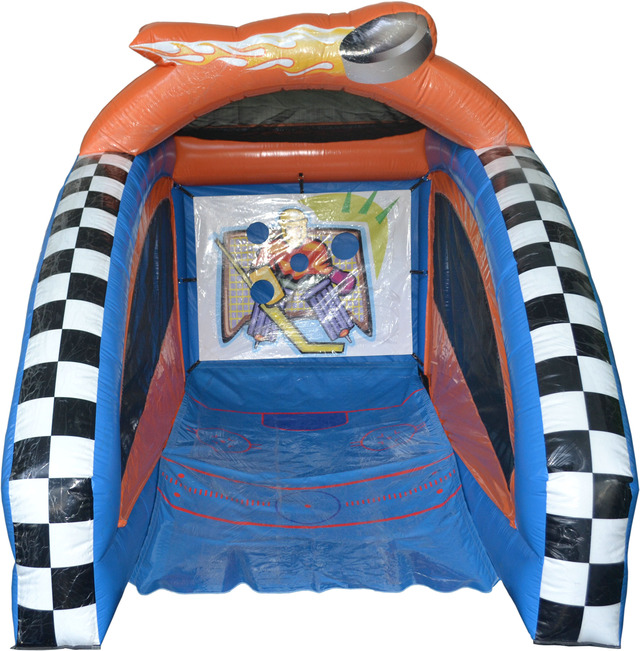 Pogo Mini Hockey Commercial Inflatable Interactive Carnival Fair Game by Pogo Bounce House