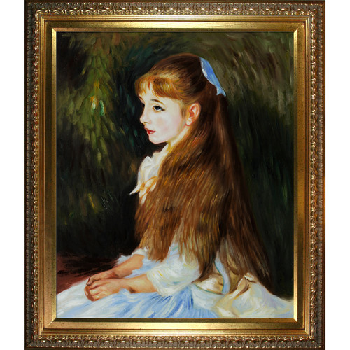 Wildon Home  Irene Cahen D'Anvers (1872-1963), 1880 by Pierre Auguste Renoir Framed Original Painting