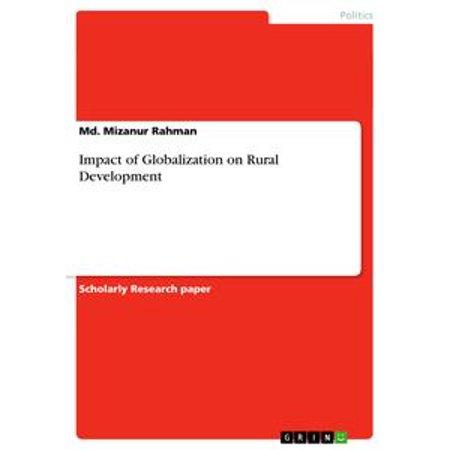Impact of Globalization on Rural Development -