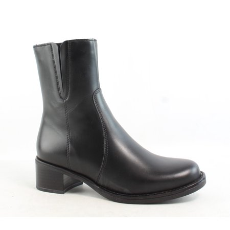 La Canadienne Womens Perla Black Ankle Boots Size 5
