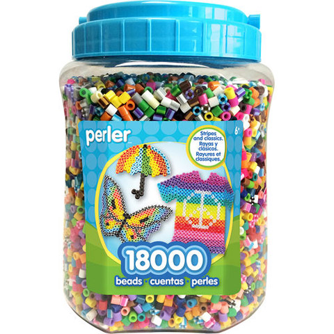 Perler™ Bead Jar - 18000 Pieces
