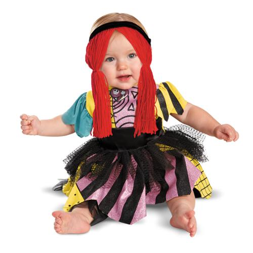 Nigtmare Before Christmas Disney Sally Prestige Child Infant Costume (Sally The Nightmare Before Christmas Costume)