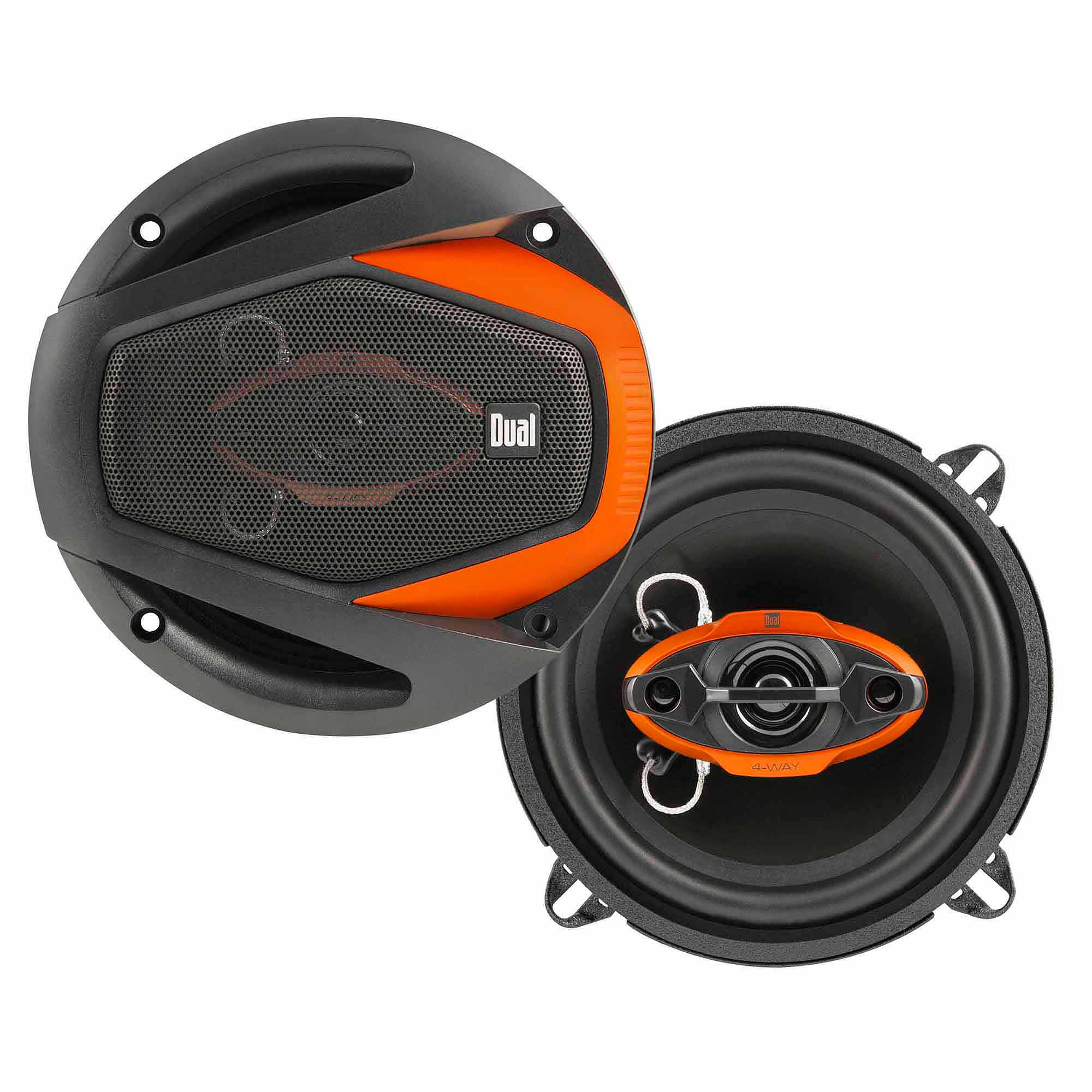 "Dual DWS524 125W 5.25"" 4-Way Speakers"