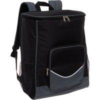 LISH Glacier Large Insulated Lightweight Leak Proof Soft Sided Cooler Backpack