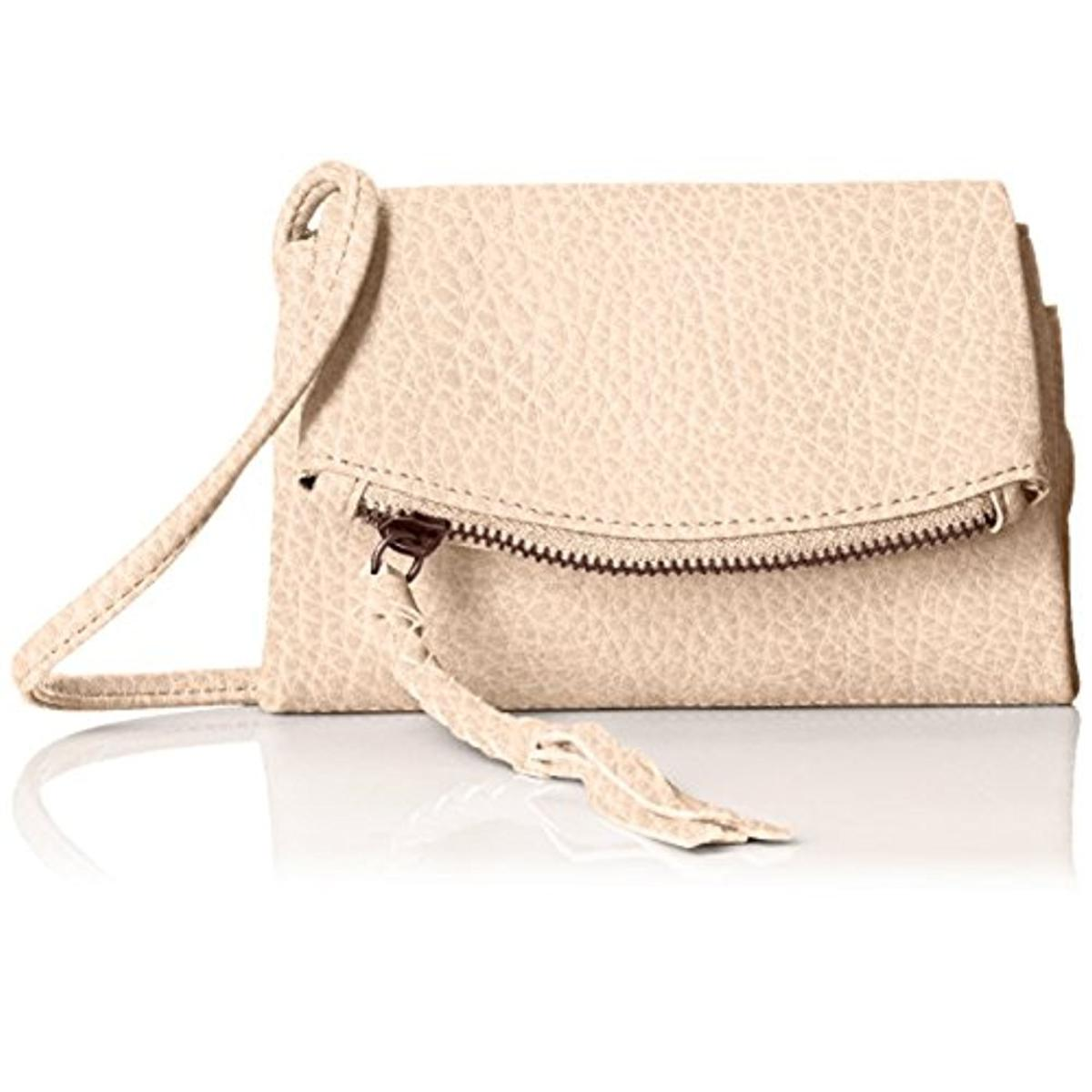 Twig & Arrow Womens Shar Faux Leather Mini Crossbody Handbag