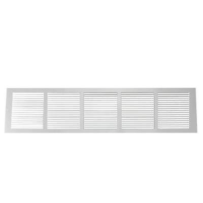 30 X 6 Wall Opening Size White Return Air Grille 650
