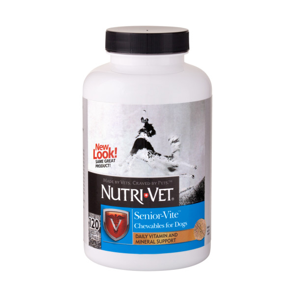 Nutri-Vet Senior-Vite Chewables 120ct