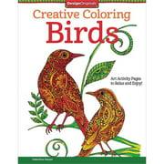 Design Originals Creative Adult Coloring Birds